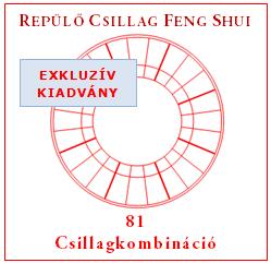 Repülő Csillag Feng Shui 81 csillagkombináció